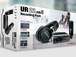 UR22mkII Recording Pack - Vollaustastattung für Einsteiger