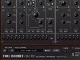 Freeware-Alarm: Full Bucket Music FB-3300 emuliert Korg-Synthie