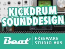 Tutorial Pimp my Kickdrum: Sounddesign mit Freeware
