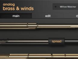 Output stellt spannendes Instrument Analog Brass & Winds vor