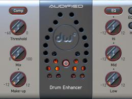 Audified​ DW Drum Enhancer im Kurztest: der ideale Drum-Effekt?