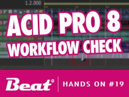 Video-Tutorial: DAW MAGIX Acid Pro 8 - Workflow im Check