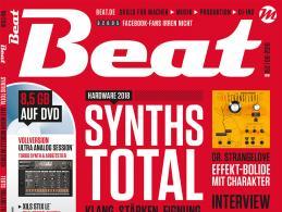 Die neue Beat 08|18 ist da: Synths Total – Hardware 2018 im Check
