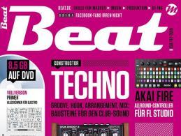 Die neue Beat 02|19 ist da: Techno – Bausteine für den Club-Sound
