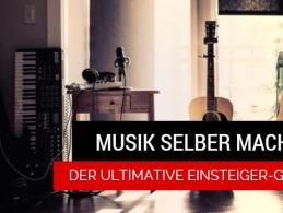 Musik selber machen mit dem Einsteiger-Guide von Delamar