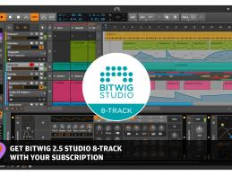 DAW Bitwig 8-Track im Plugins-Samples Abo verfügbar