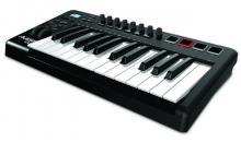 25-Tasten Keyboard Controller mit anschlagdynamischen Pads