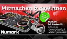 Endspurt: Numark DJ Starter-Kit gewinnen