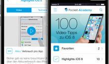 100 Video-Tipps zu iOS 8 für iPad & iPhone