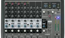 Phonic AM1204FX USB - 6-Kanal Kompaktmixer