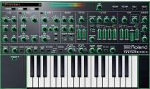 Plug-in-Version des Synthesizers Roland System-1