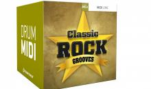 Toontrack Classic Rock Grooves MIDI Pack