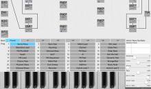 DA ONE iPad-Synth mit multiplen Synthese-Algorithmen