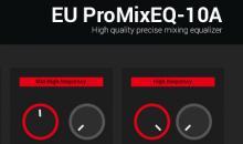 Kostenlos und musikalisch: Der EU ProMixEQ-10A Equalizer