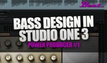 Video-Tutorial: Bass Design mit Studio One 3