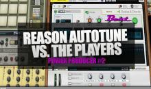 Video-Tutorial: Autotune/Vocoder in Reason mit den Players ansteuern - So geht's!
