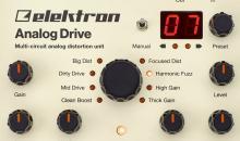 Elektron Analog Drive im Test: Der ultimative Verzerrer für Gitarristen?