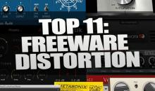 Top 11: Die besten kostenlosen Plugins für Overdrive, Distortion, Saturation & Co.