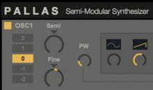 Max for Cats Pallas: semimodulare Synthesizer verspricht rohen Analog-Sound!