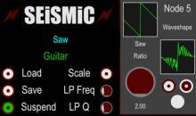Kostenlos und ungewöhnlich: Seismic Modular-Synthesizer für Mac
