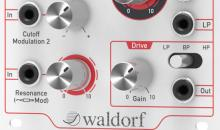 Waldorf VCF1: Filter für das Modularsystem vorgestellt
