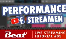 Tutorial: Live Stream für Facebook/Youtube (3/5) - Musik-Performance streamen
