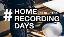 #HomeRecordingWeek bei Thomann