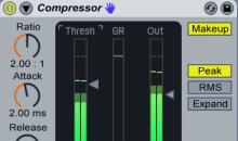 Ableton Live Tutorial: Kompressor richtig einstellen