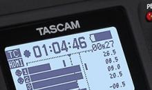 Mehrspur-Rekorder TascamDR-701D ist jetzt für 3D-Aufnahmen gewappnet