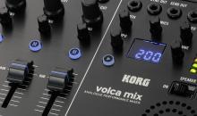 NAMM 2018: Korg volca mix - volca-Mischpult-Zentrale wird kommen