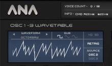 Sonic Academy ANA 2 im Test: Braucht man diesen Wavetable-Synthesizer?