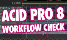 Video-Tutorial: DAW MAGIX Acid Pro 8 - Workflow im Check