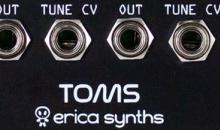 Erica Synths​ Toms & Snare Module im Kurztest