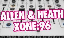 Video-Tutorial: Allen & Heath Xone:96 DJ-Mixer für den Hybrid Live Act nutzen