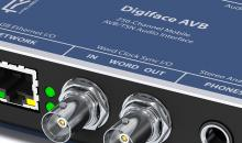 Lieferbar: RME Digiface AVB für 256 Netzwerk-Audiokanäle
