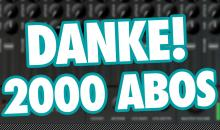 2000 Youtube-Abonnenten - Beat sagt Danke!!!