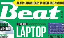 Die neue Beat 03 19 ist da: Laptop Studio – Stabil. Sauber. Schnell.