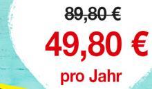Jetzt 45% sparen! Das Beat Abo zum exklusiven Sonderpreis
