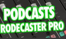 Video-Tutorial mit Rodecaster Pro #01: Podcast aufnehmen - Was braucht man alles?