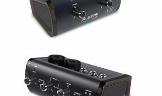 Zwei kompakte Audiointerfaces von Alesis vorgestellt
