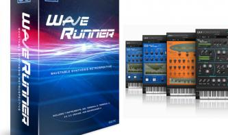 UVI Wave Runner - Wavetable Synthese mal sieben
