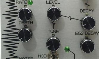 AtomoSynth Totem – der Percussion-Synthesizer für Eurorack