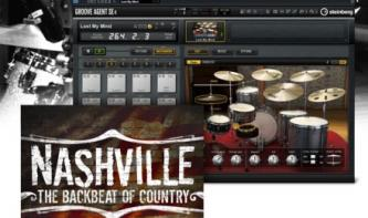 Nashville - die Drum Expansion für Groove Agent