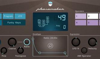 Phasenmaker FM Synth für iOS