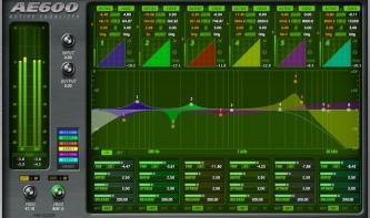 McDSP AE600 aktiver Equalizer