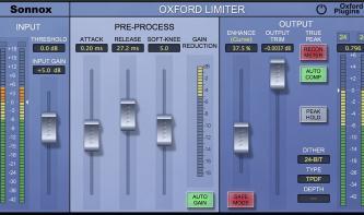 UAD Sonnox Oxford Limiter V2
