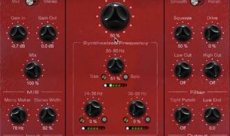 Brainworx emuliert dbx 120XP subharmonischen Synthesizer