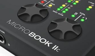 MOTU Microbook IIc: Günstiges Audio-Interface mit Profi-Qualitäten?