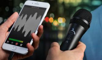 IK Multimedia iRig Mic HD 2: USB/iOS-Mikrofon für Podcaster, Sänger und mehr