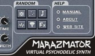 Stone Voices Marazmator: Kostenloser Synthesizer mit psychedelischem Touch